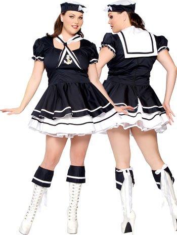 [Plus Size Sexy Sailor Sweetie Costume - XXLARGE] (Plus Size Sexy Sailor Costumes)