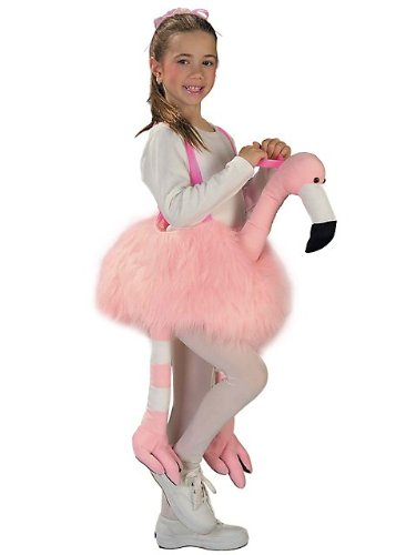 Ride-A-Flamingo Stuffed Kids -