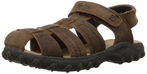 Stride Rite Hudsen Fisherman Sandal (Toddler/Little Kid),Brown,6 M US Toddler