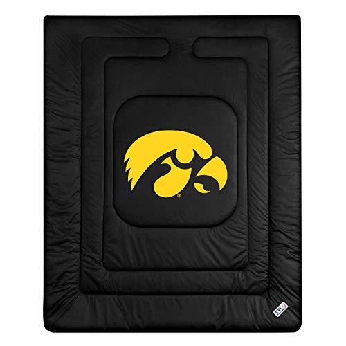 - NCAA Iowa Hawkeyes Locker Room Comforter Queen