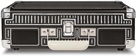 Crosley CR8005A-CBEU - Tocadiscos portátil de Tres velocidades ...