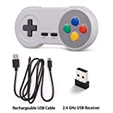 miadore 2Pack 2.4GHZ Wireless SNES Controller for