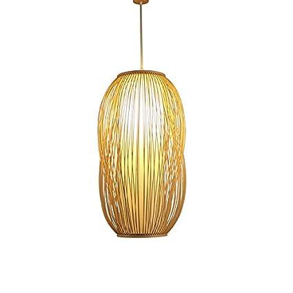 Lámpara de techo de bambú Lámpara de techo Lámpara de techo ...