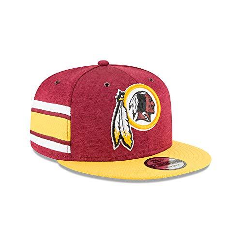 土器意義交通ニューエラ (New Era) スナップバック キャップ - サイドライン ホーム ワシントン?レッドスキンズ (Washington Redskins)