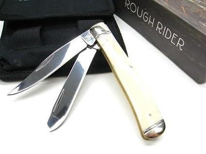 Amazon.com: Nuevo diseño con ballena hueso de Rough Rider ...