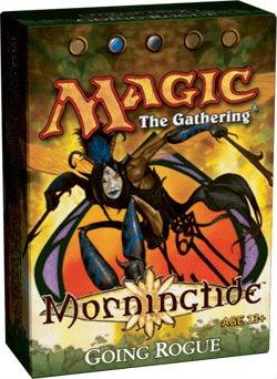 Deck Theme Lorwyn - Magic the Gathering: MTG Lorwyn: Morningtide Theme Deck - Going Rogue (Blue/Black)