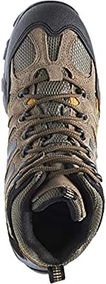 7b14daf71d9 Wolverine Men's Wilderness Waterproof Hiking Boot - Gunmetal/Tan ...