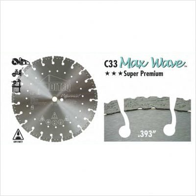 UPC 849738001411, C33 Max Wave Segmented Blade Size: 14""