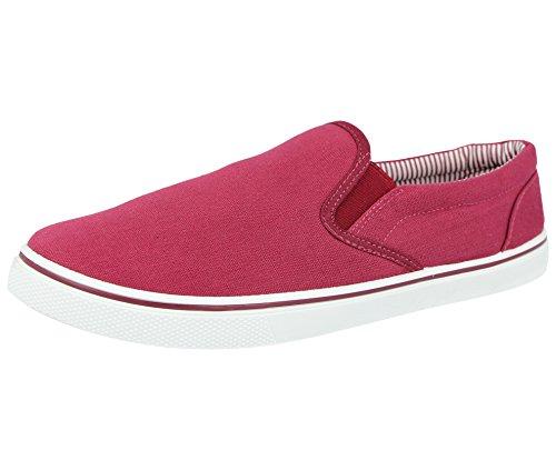 scarpe al nei da modello Burgundy all'abbigliamento ginnastica abbinare antiscivolo disponibili a 47 dal da ideali uomo da 5 ideali casual espadrillas mocassino Scarpe 40 numeri BTzFwxz
