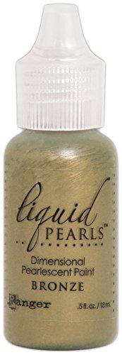 - Ranger Bronze Liquid Pearls Dimensional Pearlescent Paint .5oz