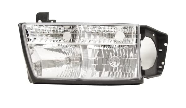 Unknown OE Replacement Saab 9-3 Passenger Side Headlight Assembly Composite Partslink Number SB2503109