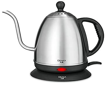 Osaka 1 Liter Electric Gooseneck Drip Kettle : Great for multiple cup pour overs!