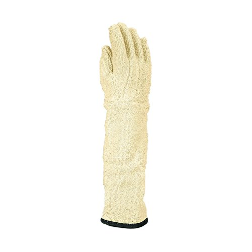 Wells Lamont Industrial 422-11 Jomac KELKLAVE Loops-Out Terrycloth Autoclave Gloves, Large, White , Large