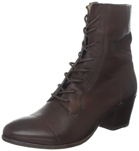 FRYE Womens Courtney Lace Up Combat