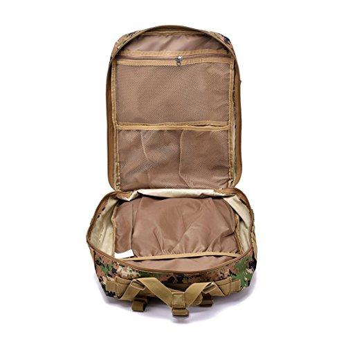Digital Hombre Jungle para Hombro CP Bolso Camouflage FUBULE al F8wqTx6ZcR