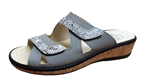 TURM Slipper 399 Women's kombi Gray 91410 grau rS5r6