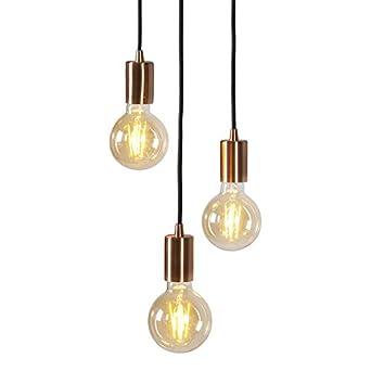 QAZQA Design Modern Pendelleuchte Pendellampe Hngelampe Lampe Leuchte Facil 3