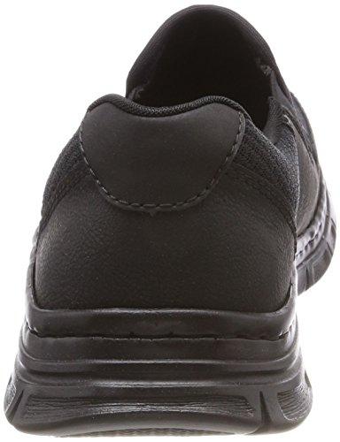 Rieker Infilare Schwarz Sneaker Schwarz Schwarz B4873 Nero Uomo TTFBPv