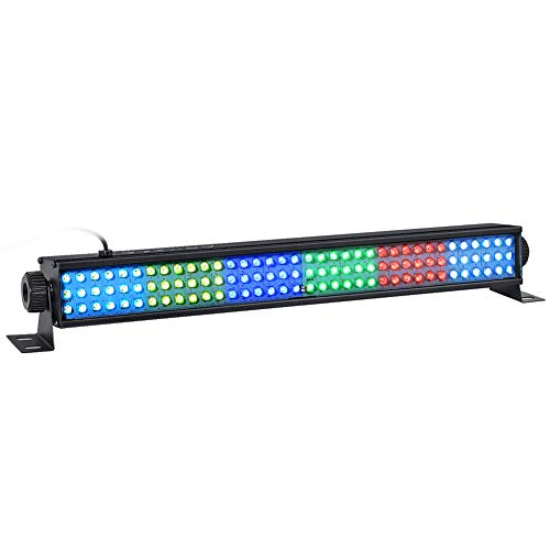 Church Halloween Event (LED Wash Lights, LaluceNatz 20 In 25W 108LEDs RGB Wash Light Bar DMX Control Auto Play Strobe Effect Uplighting for Wedding Church DJ Party Stage)