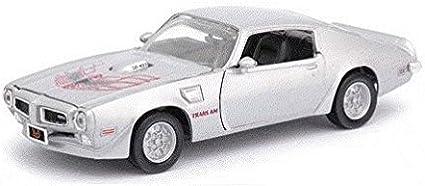 1973 Pontiac Firebird Trans Am Red 1//24 by Motormax 73243 by Motormax