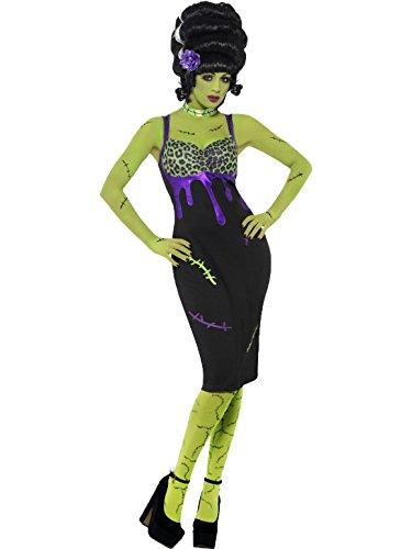 Smiffy's Women's Pinup Costume Dres Frankie Medium (Pin Up Frankie Costumes)