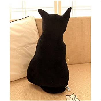 Amazon Com Kenmont Funny Cat Shaped Cushion Stuffed