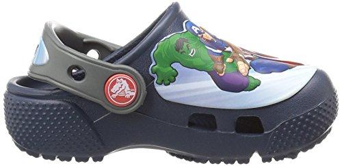 Crocs Boys' FL Avengers Multi K Clog, Navy, 11 M US Little Kid by Crocs (Image #7)