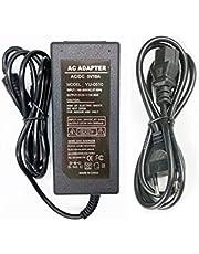 5V 10A Voeding Adapter 50W Transformatoren ,AC100-240V to AC/DC5V Omvormer Adapter met 5,5mm * 2,5mm DC Stekkeradapter voor LED Strip Verlichting ,LCD Monitor