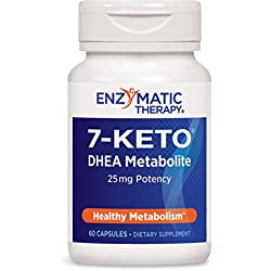 Enzymatic Therapy 7-KETO, Dhea metabolite, 60 Capsules