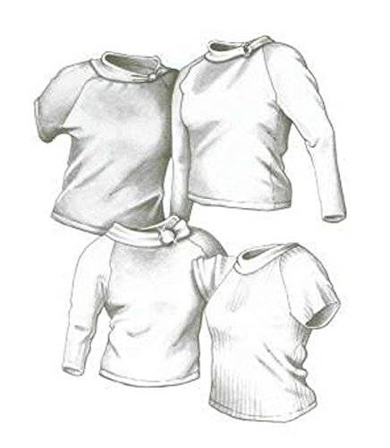 Great Copy 2400 Raglan Tops Sewing Pattern (Pattern - Raglan Field