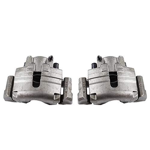 Callahan CCK04922 [2] FRONT Premium Semi-Loaded Original Brake Caliper Pair + Clips [for Chrysler Sebring Dodge Stratus] (Brakes Dodge Stratus)