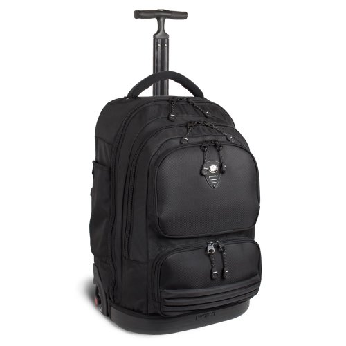 "J World BROOK 21"" Laptop Rolling Backpack in Black"