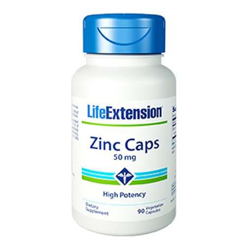 Life Extension Zinc Potency capsules product image