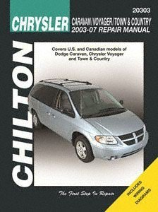 Chrysler Caravan, Voyager, Town & Country Chilton Repair Manual - Manual Caravan Dodge