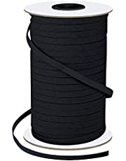 Pawzbay Elastic Bands for Sewing 1/8 Inch 200 Yards Flat Elastic Cord Stretch String Rope