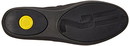 Fitflop F-Pop Patent- Oxford para mujer Negro (All Black)