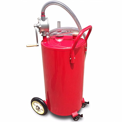 New 35Gallon Gas Fuel Diesel Caddy Transfer Portable jerry dispense Tank w/Pump by MTN Gearsmith