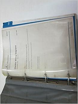 1989 Mercedes E Class Model 124 Electrical Wiring Diagrams Manual Volume 3 Mb Inc Amazon Com Books