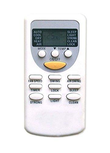 wellclima Telecomando ZH/JT-01 ZH/JT03 per condizionatore Chigo, Vaillant, Rheem, Brize, White Westinghouse, Komeko, Zephir, Bent, Lenoir aria condizionata, climatizzatore, pompa di calore remotes