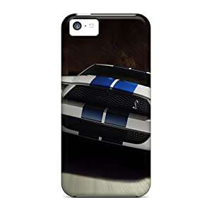 Shock-dirt Proof Mustang Cases Covers For Iphone 5c