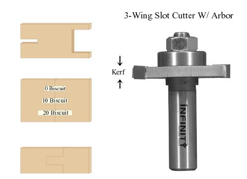 Slot Cutter with 1/2'' Arbor