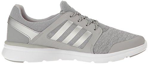 adidas Neo Womens Cloudfoam Xpression W Running Shoe Clear Onix/Matte Silver/White mMy0i9o
