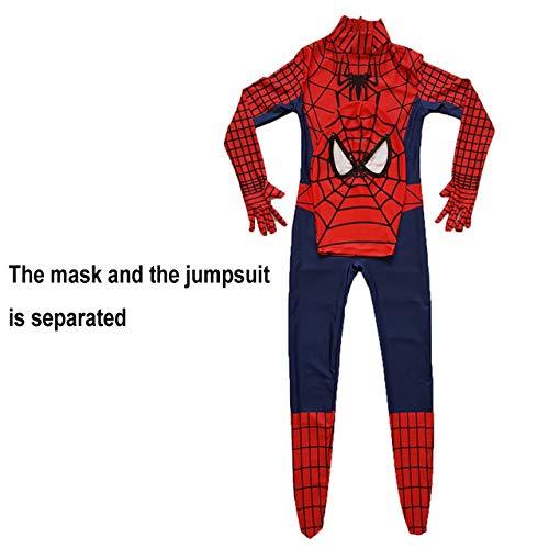 Desconocido Disfraz de Spiderman para niños Superhéroe ...
