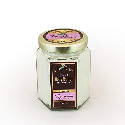 Lavender Whipped Body Butter/Natural / Handmade/Shea Butter -