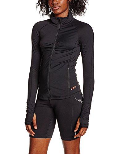 CMP - chaqueta de fitness para mujer Negro