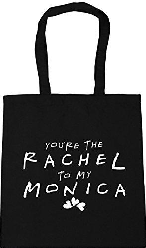 the 10 litres Gym You're 42cm Shopping Rachel to Monica HippoWarehouse Black Bag Tote my x38cm Beach 5TqpO8w6n