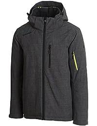 Men's Big Sky 10k Skiing/Mountain Jacket (Granite Heather)