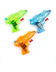 Water Gun Pistol Water Pistol Mini Water Pistols,Transparent Unique Shape Assorted Colours Kids Fun Small Gift,Party Loot Bag Toys/Fillers