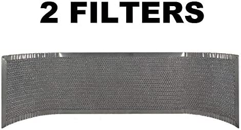 (2) Thermador 19-19-266 Compatible Replacement Mesh Range Hood Vent Filter AFF34 41Np0AD-2BFL