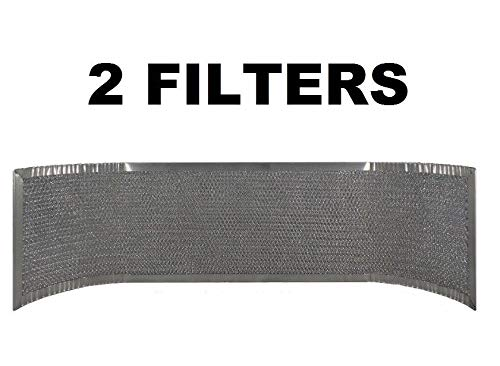 ((2) Thermador 19-19-266 Compatible Replacement Mesh Range Hood Vent Filter AFF34)